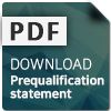 Prequalification statement download